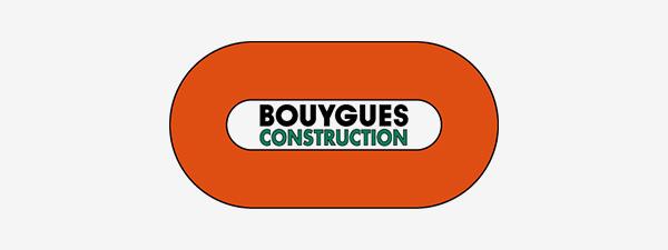 Logo bouygues construction site
