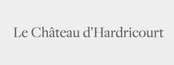 Logo chateau hardricourt